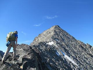 Jake on the ridge