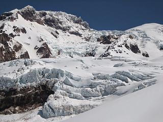 the awesome Puyallup glacier