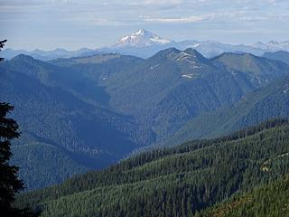Glacier Peak. Captain Point has the logging road nearly to its summit.