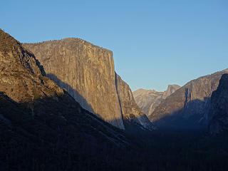 El Cap sunset