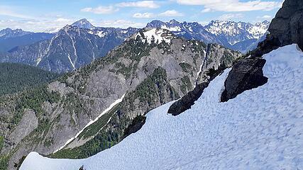 lewis and Aaron on ridge