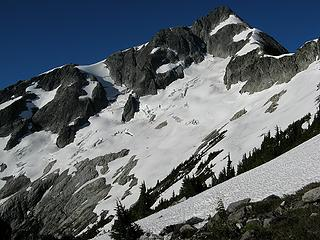 Beginning of the traverse