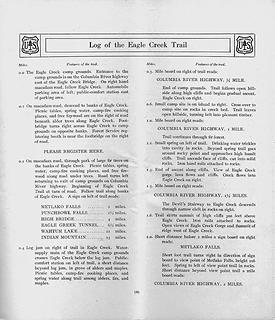 page 9, Eagle Creek Trail Log