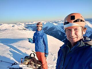 On Clark summit