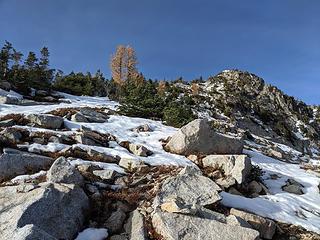 Nearing summit