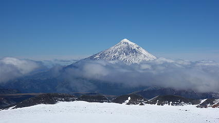 Lanin from the summit