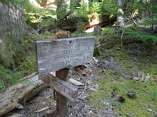 """back on the Elwha """"highway""""."""
