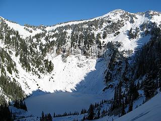 Round Lake & Breccia summit