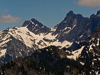 Zoom shot of Overcoat and Chimney Rock