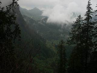 Peak-a-boo view