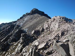 John on the summit