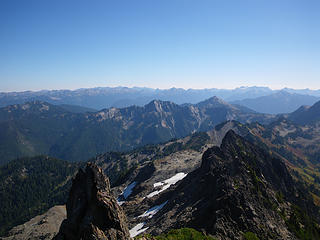 south from Stephen Peak