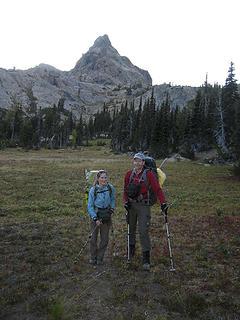 Ingalls Meadows and Ingalls Peak