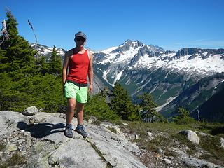 Easy Ridge summit
