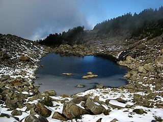 Persis Upper Tarn from above