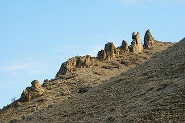Stegasarus Butte