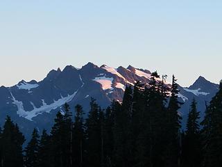 Sunrise on Mt. Olympus