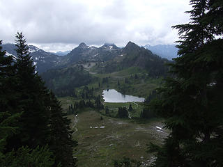 LaCrosse Basin and Lake LaCrosse from Fisher's Notch