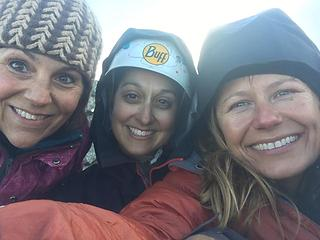 At camp & freezing!