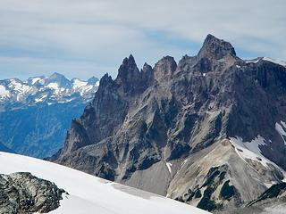a closer look at Vulcan's Thumb and Pyroclastic Peak