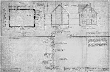 Enchanted Valley Chalet blueprints