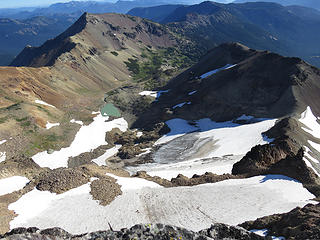 Conrad Glacier and Cold Lake Basin.