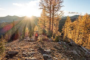julia on the ridge