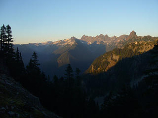 Looking NE from Avalanche Mt.