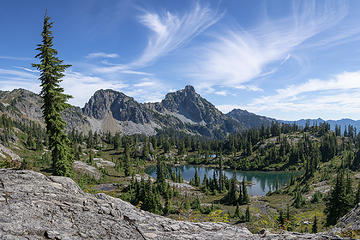 Lila Lake basin