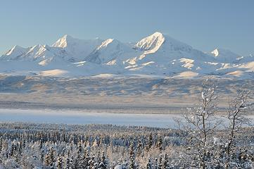 Alaska Range from Richardson Highway