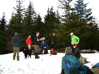 TNABers on West Tiger 3