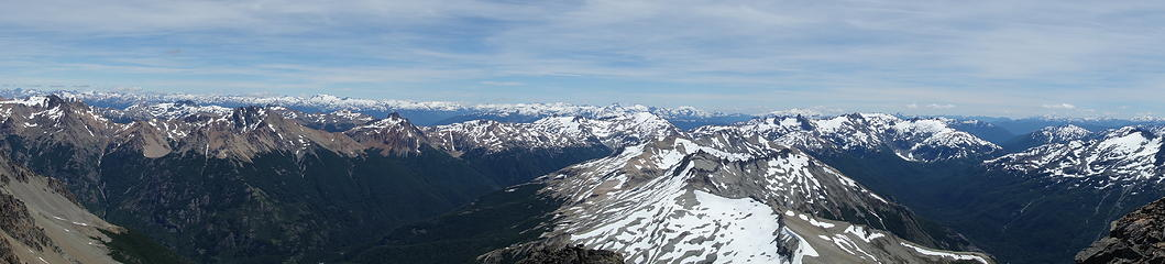 Panorama from Cerro Helio Azul