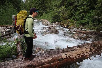 crossing Terror Creek