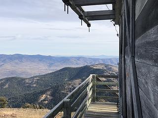 Northeast corner of the Lookout