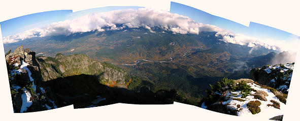 Skykomish Valley from Persis