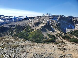 Glacier Peeking