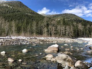 North Fork Skykomish above the Index-Galena Washout