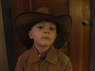 I are serious cowboy