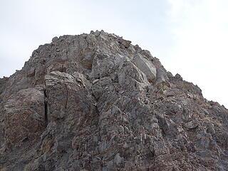 looking back at NW Ridge