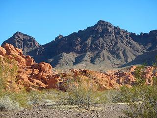 Red Rocks area