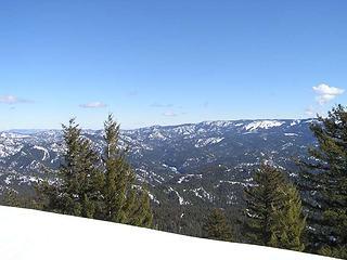 Looking East/Northeast across Blewett Pass and to Tronsen Ridge
