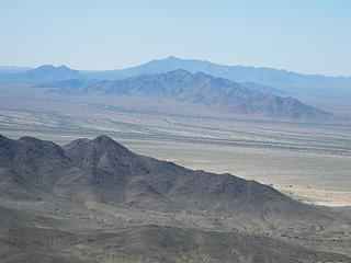 Chuckwalla Mountain to the west