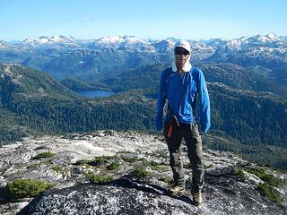 Steven on Burman summit