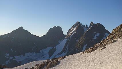 Turret and Sunbeam at left