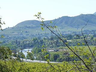 View toward Wenatchee