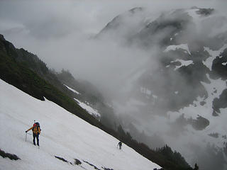 iron and stefan with cascade pass below