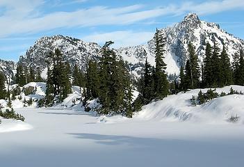 Tree Shadows on Long Lake with Hibox