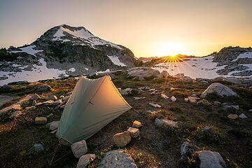 Camp at LaBohn Lakes