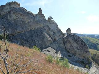 Some of the rocks at Peshastin Pinnacles