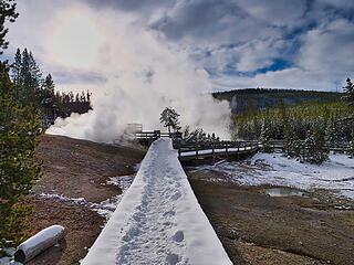 Path to steam